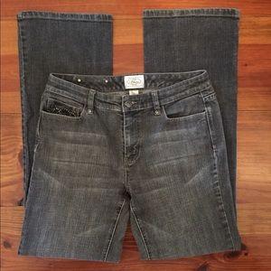 White House Black Market 'Blanc' Black Jeans sz 8
